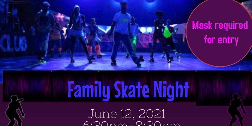 1st Annual Family Skate Night