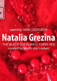 Natalia Grezina exhibition at RAW Street