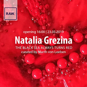 Natalia Grezina exhibition at RAW Street