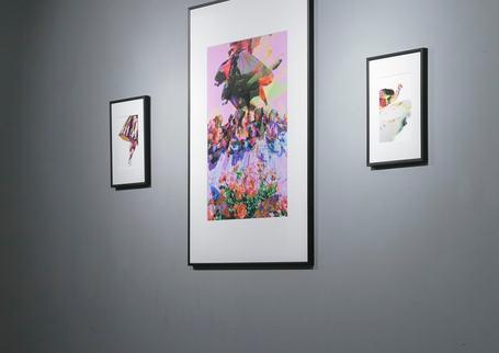 Mima Chovancova solo exhibition at RAW