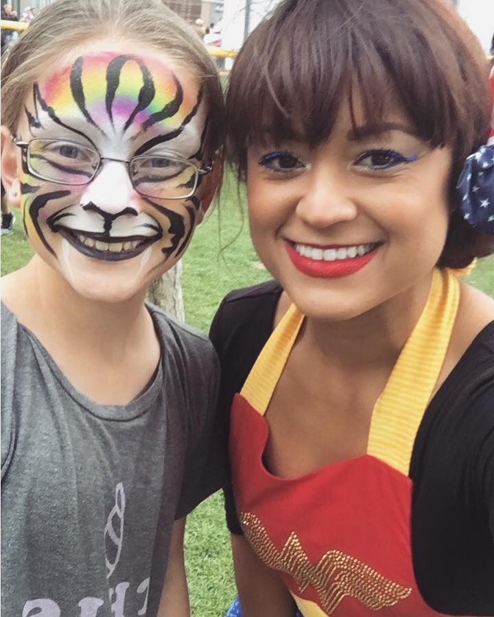lucy abd tiger face