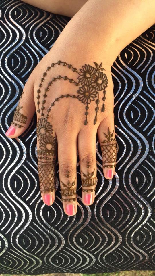 detailed hand design