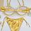 Thumbnail: Gianna Bikini Set - Gold