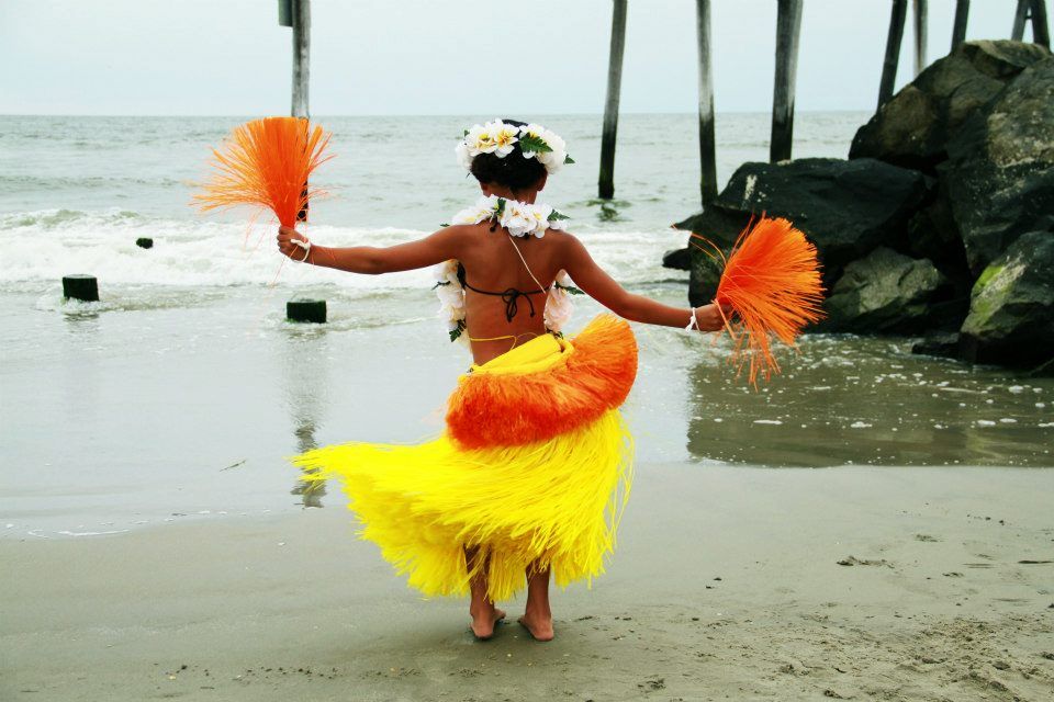 Young South Pacific Island Dancer