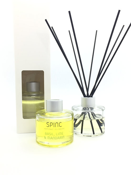 Round Bottle Room Diffuser, 120ml