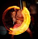 Daring Fire Knife Dancers