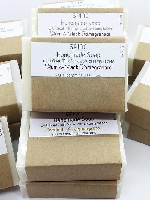Plum & Black Pomegranate Goat Milk Soap