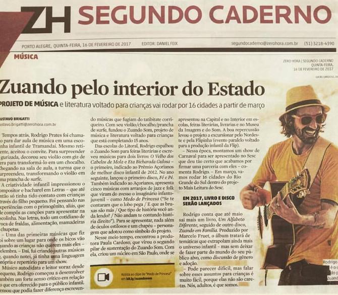 Zuando Som unindo Literatura e Música em 16 cidades do Estado do Rio Grande do Sul