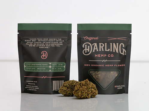Darling Sour Space CBD