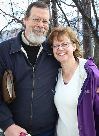 Elder Bud Duncan with wife Clarice