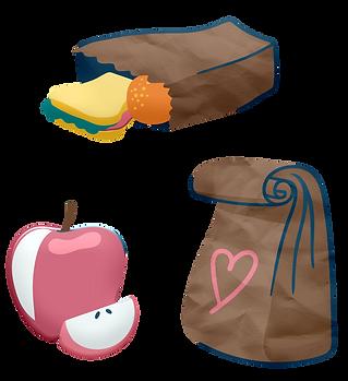 School Lunch Bag Clipart