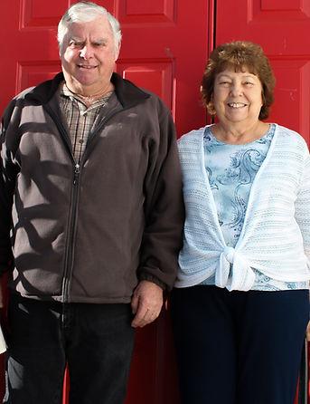 Elder Bud Duncan with wife Clarice