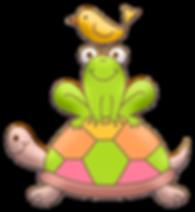 Turtle Frug Bird Clipart