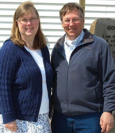 Elder Tim Bailey with wife Amanda