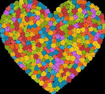 Alphabet Heart Clipart