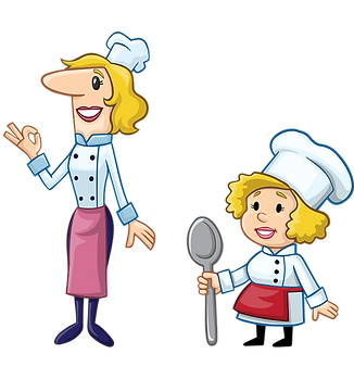 Female Chefs Clipart
