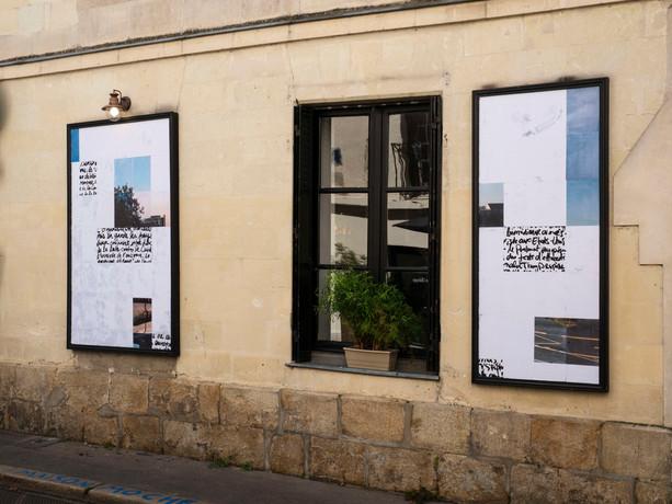 Vue d'exposition à L'ARTICHAUT GALERIE