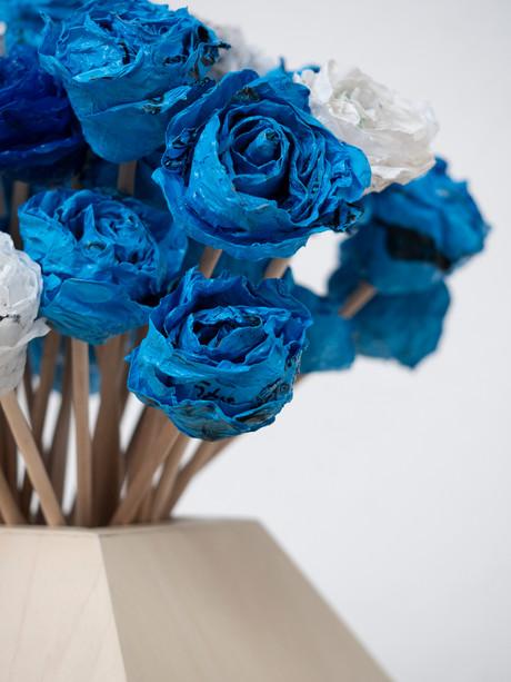 Vase et fleurs (détail)