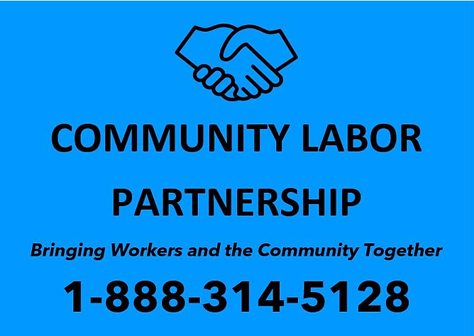 Community Labor Partnership Website Logo