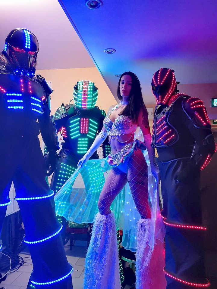 Robot lumineux Troyes