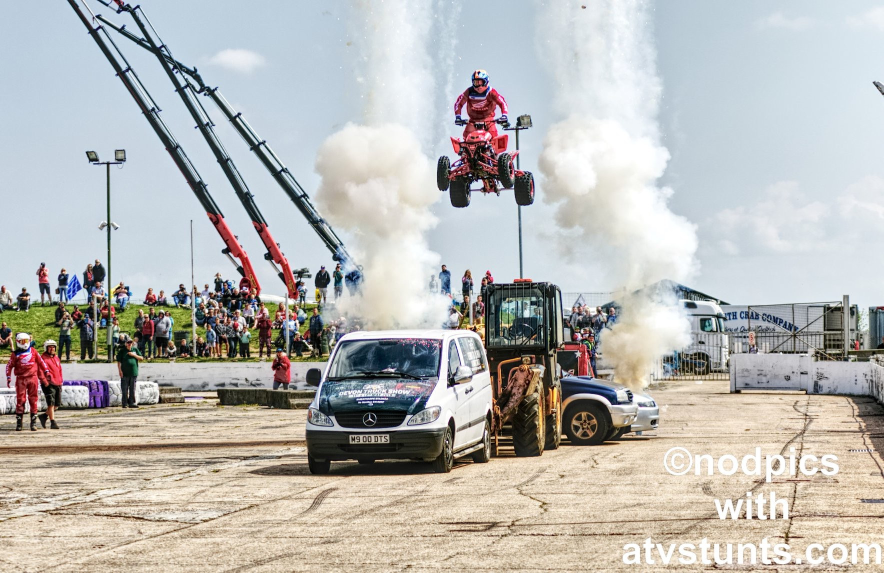 ATV Stunt Show