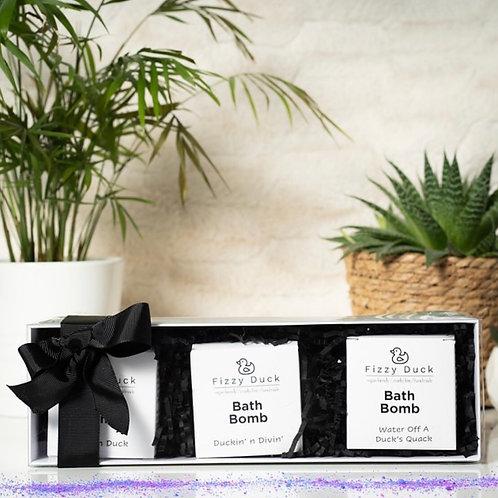 Bath Bomb Trio Gift Set