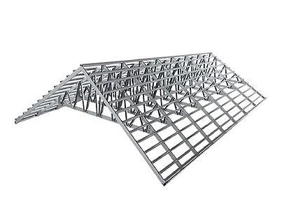 steel-roof-truss โครงหลังคาสำเร็จรูป โครงหลังคาเหล็ก โครงถัก โครงทรัส