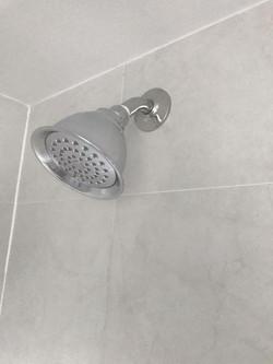 single shower head
