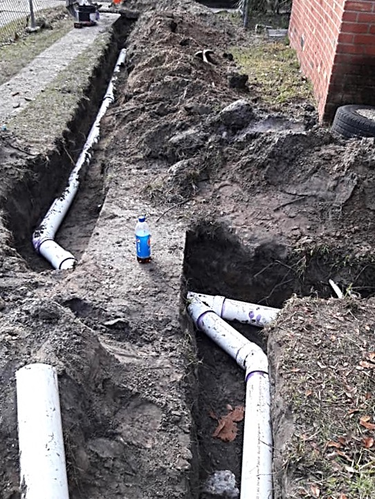 Main sewer line