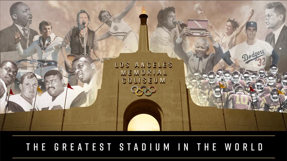 Los Angeles Memorial Coliseum Wall Wrap