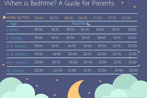 Bedtime Guide for Kids