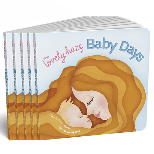 5 x The Lovely Haze of Baby Days