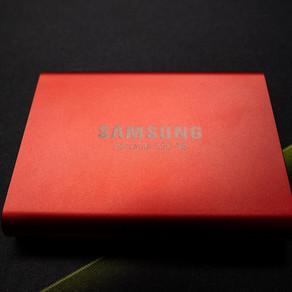 【レビュー】Samsung Portable SSD T5
