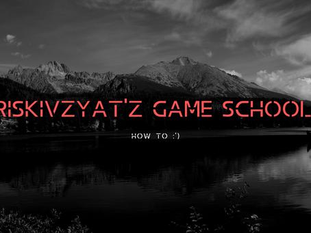 RiskivzyAt'z Game School【RGS】(仮)開校します。