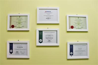 MG certificate