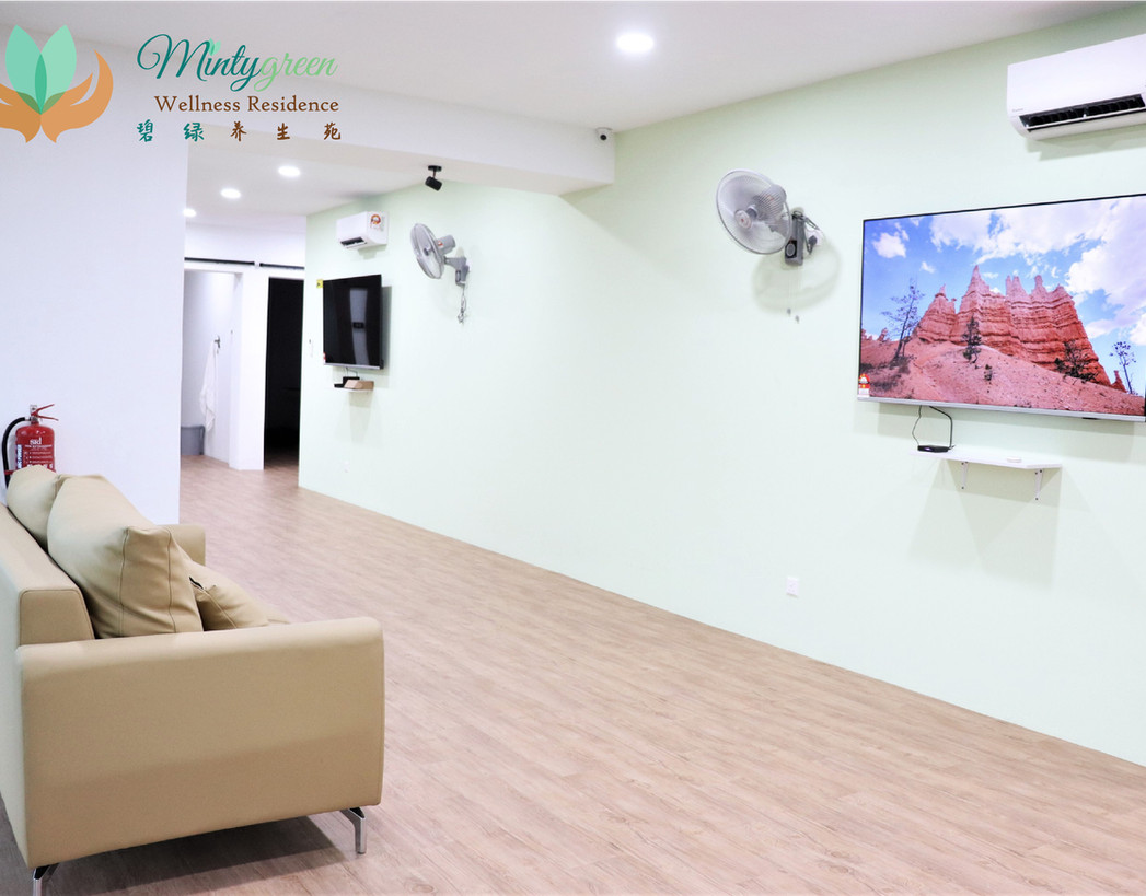 Mintygreen Nursing Home KL Living Room