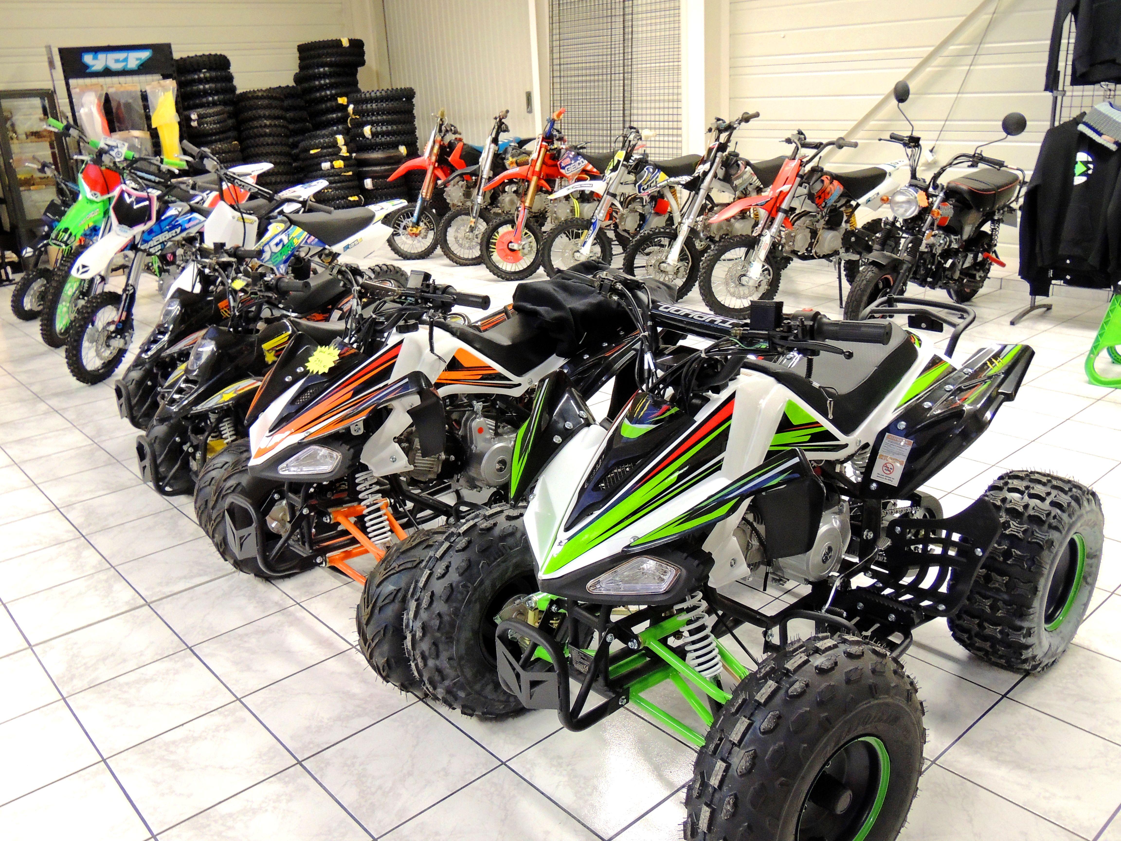 OCCASIONS Quad et moto