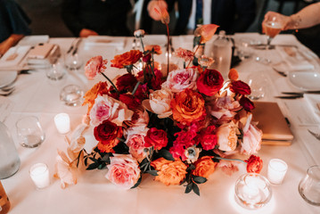 Flowers by Leah Mitchell Floral. Photography by The Evoke Company.