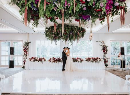 Aaron & Ashleys Luxe Grange Wedding