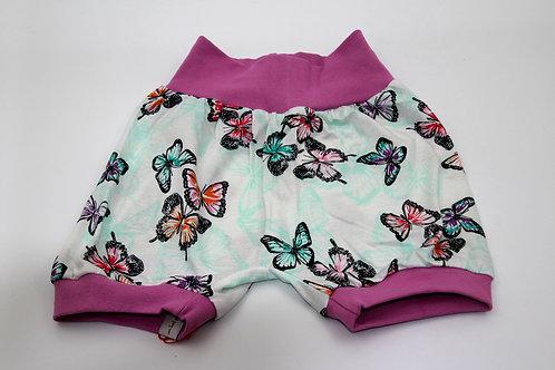 Sommer Hose Schmetterlinge Grösse 98-104