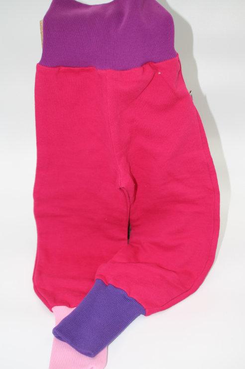 Hose Pink Violett Grösse 92