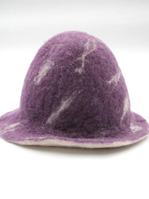 Filzhut Violett Grösse: ca. 53