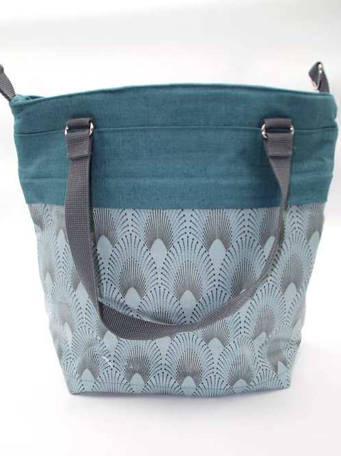 3 in 1 Multibag blau grau