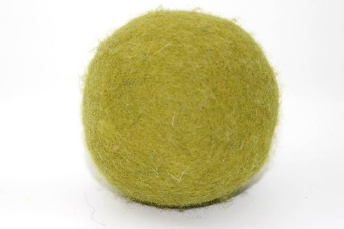 Filzball Moosgrün ohne Rassel