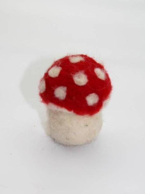 gefilzter Pilz klein