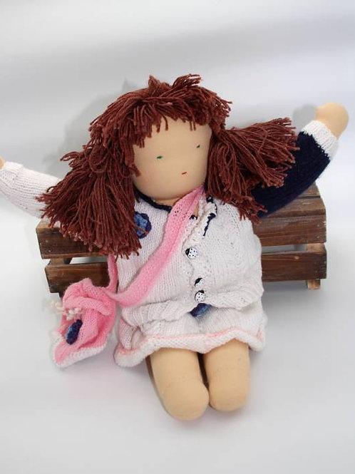 Puppen Mädchen braun
