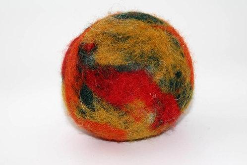 Filzball Herbstlich ohne Rassel