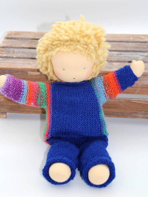 Puppen Junge blond