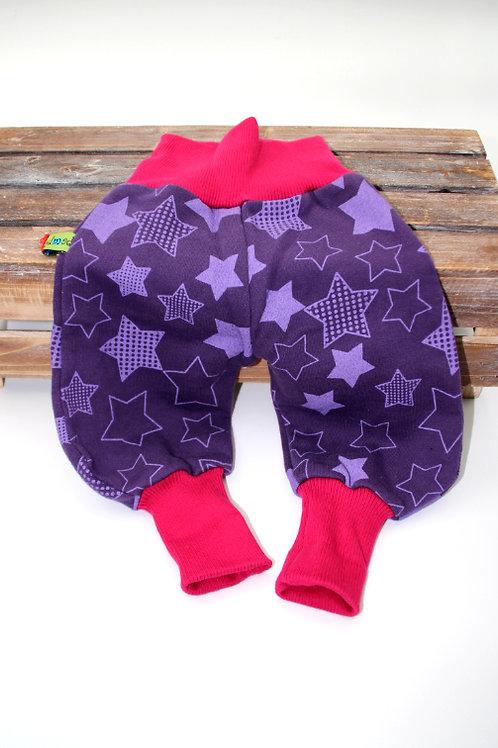 Hose Sternen Violett Grösse 50