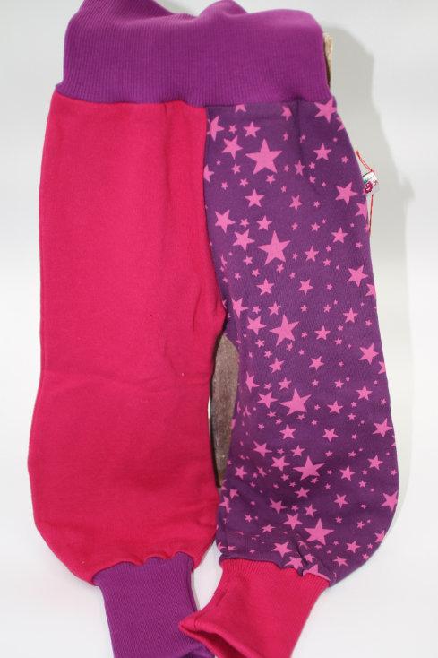 Hose Sternen Pink Grösse 80